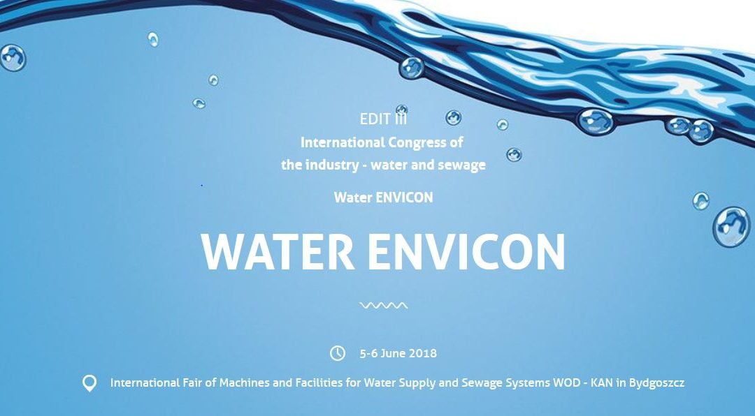 3rd edition of the International Congress of the Water Supply and Sewage Industry