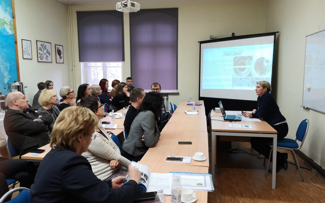 Klaipeda University meeting with local project stakeholders