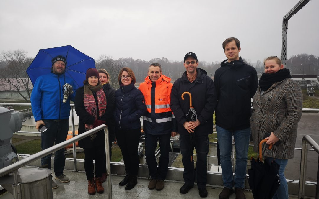 Project partners in the cross-border visit